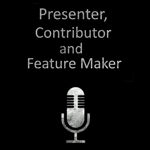 Presenter and feature maker cover