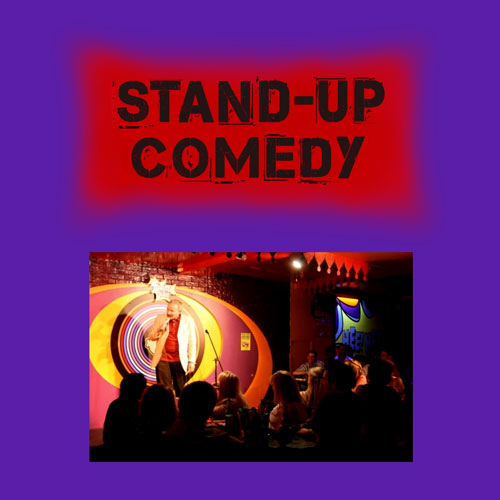 Stand up comedy cover