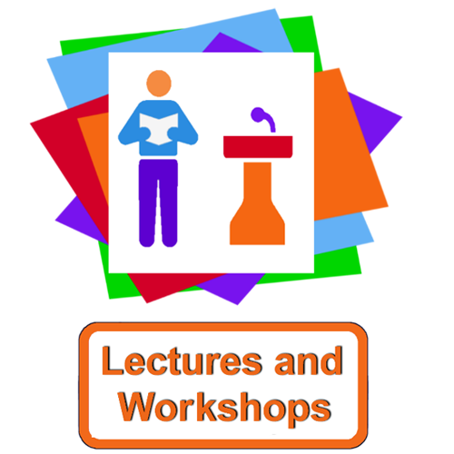 Lectures and workshops icon
