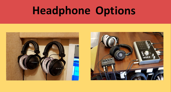 Heaphone Options