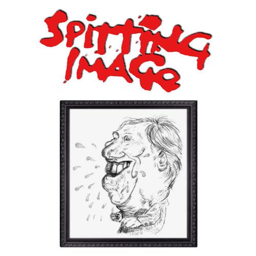 Spitting Image face