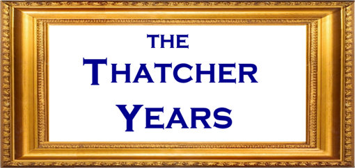 The Thatcher Years title