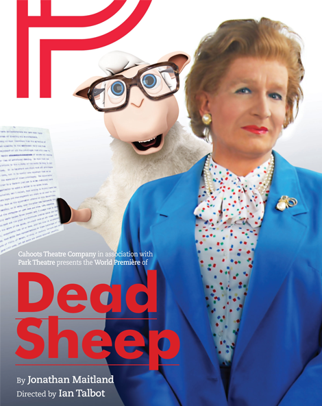 Dead Sheep Thatcher poster