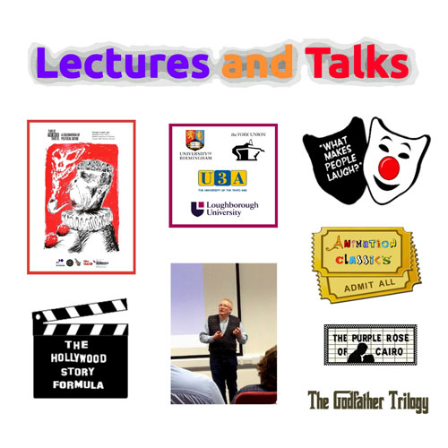Lectures and talks cover