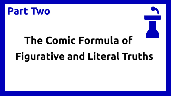 Part two - Comic formula