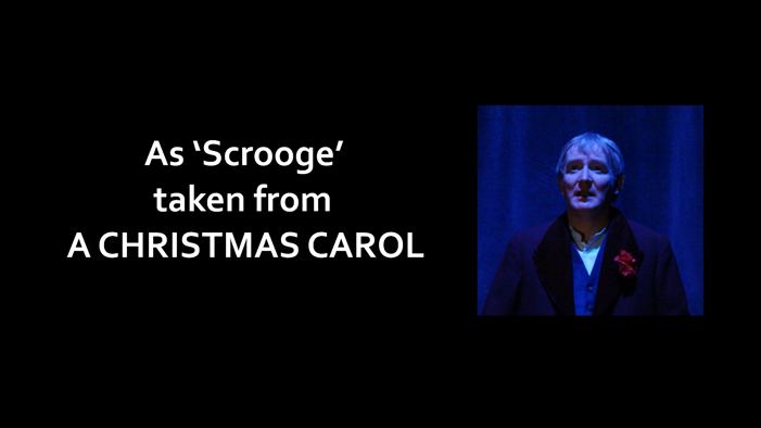 As Scrooge