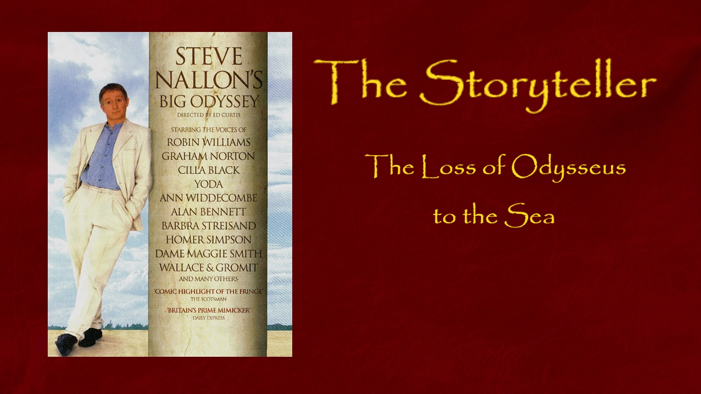 The Storyteller - 'The Fall of Odysseus into the Sea'