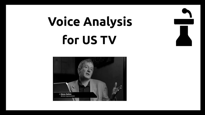 ANALYSING THE VOICE
