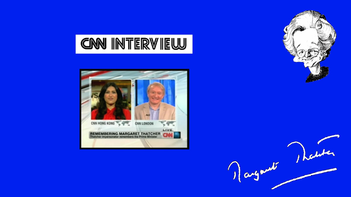 Interview with CNN on the passing of Lady Thatcher.