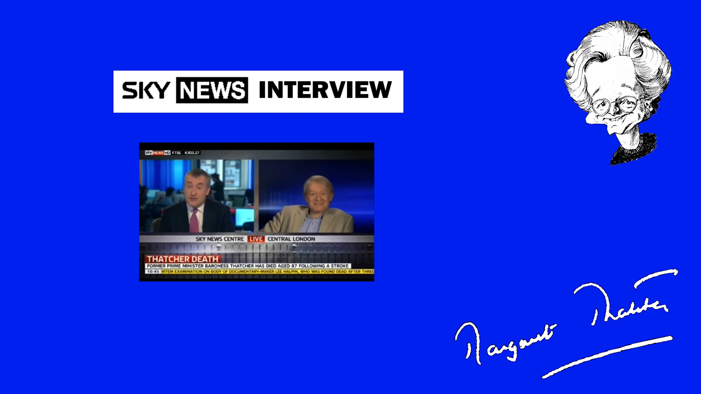 Interview with SKY NEWS.