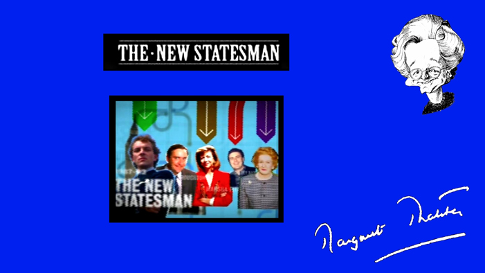 Interview discussing THE NEW STATESMAN.