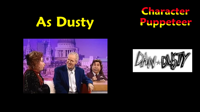 Dusty in cult TV show DAN AND DUSTY Part One