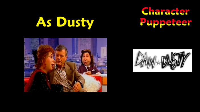 Dusty in the cult TV show DAN AND DUSTY Part Two