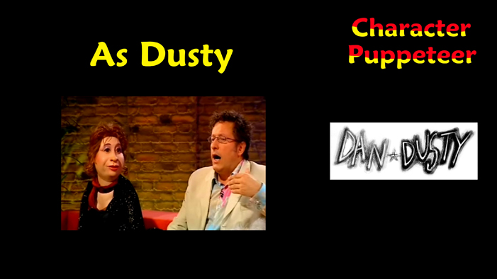 Dusty in the cult TV show DAN AND DUSTY Part Three