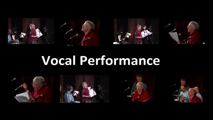 Vocal Performance Showreel