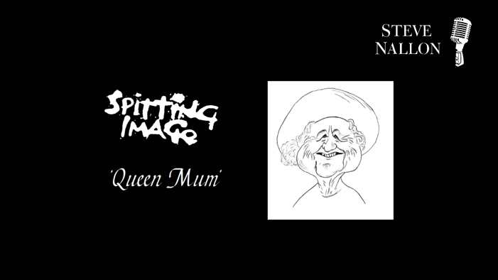 The SPITTING IMAGE Queen Mum