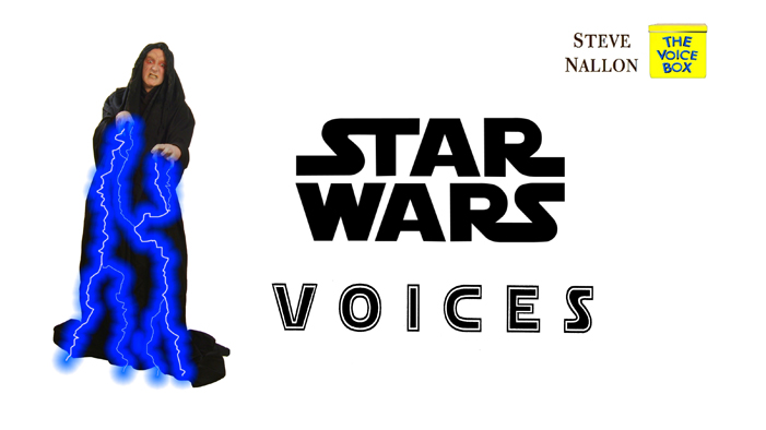 7 STAR WARS voices.