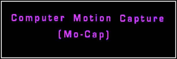 computer motion capture logo