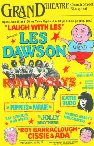 CISSIE AND ADA - BLACKPOOL GRAND THEATRE POSTER