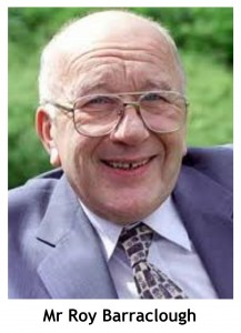 MR ROY BARRACLOUGH